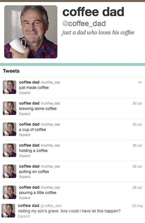 Coffee dad - meme