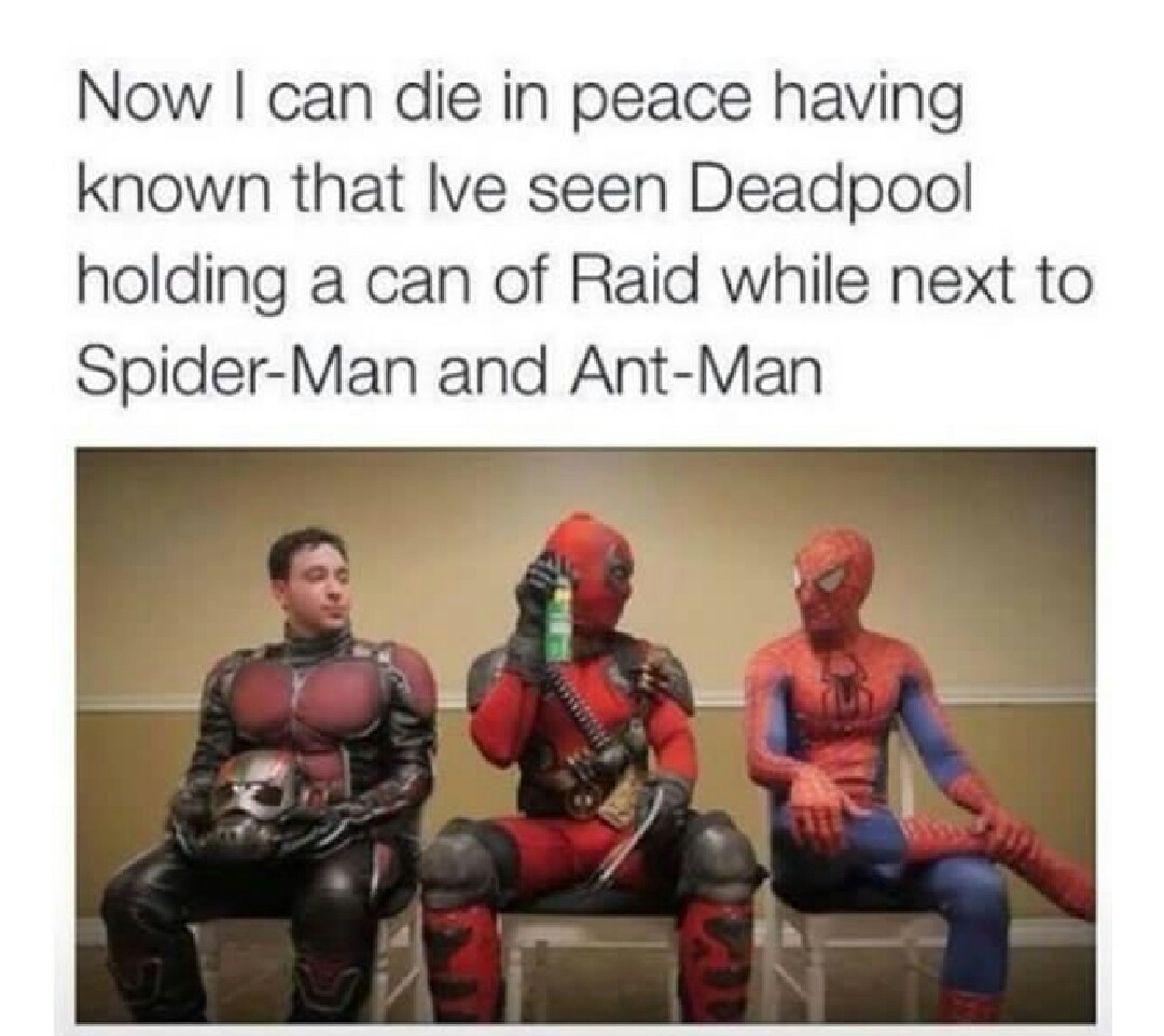 deadpool - meme