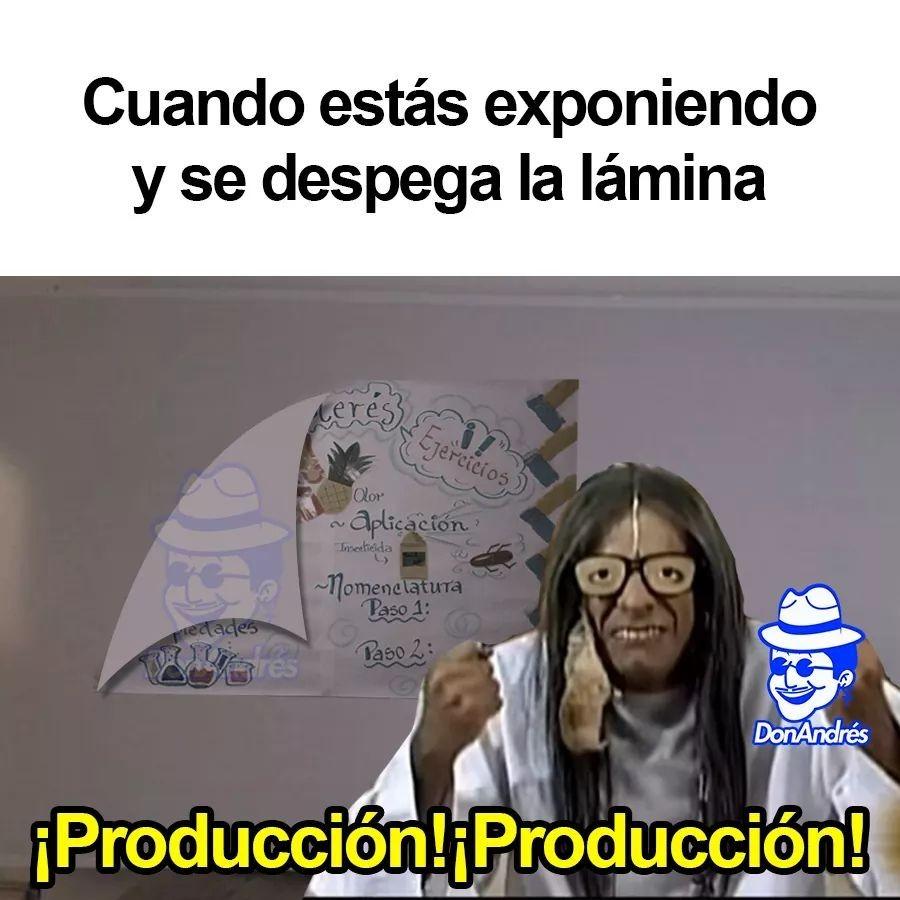 Producción - meme