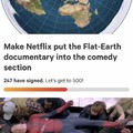 Flat-earthers are weird