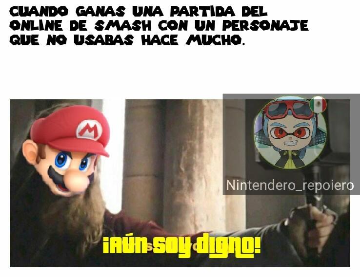 Cambie a Mario por Marth :'c - meme