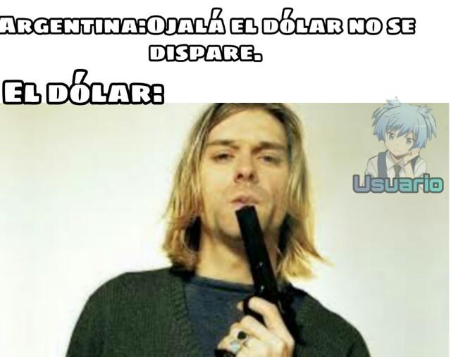"Kurt ""Escopetas"" Cobain - meme"