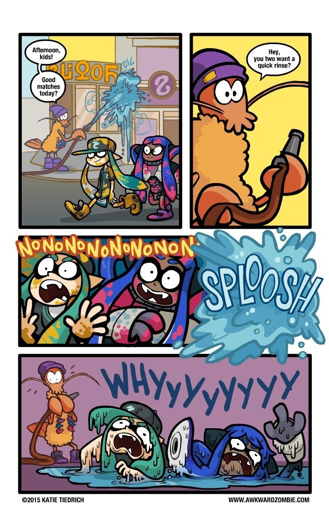 Splatoon - meme