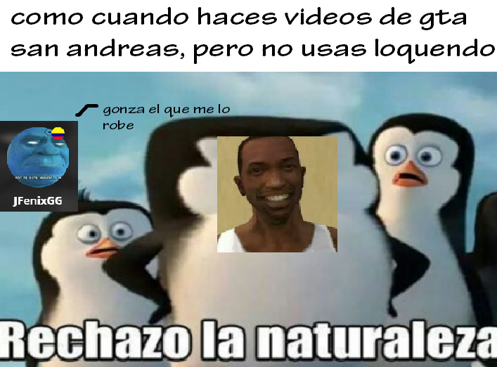 nuevo meme de gta san andreas XD