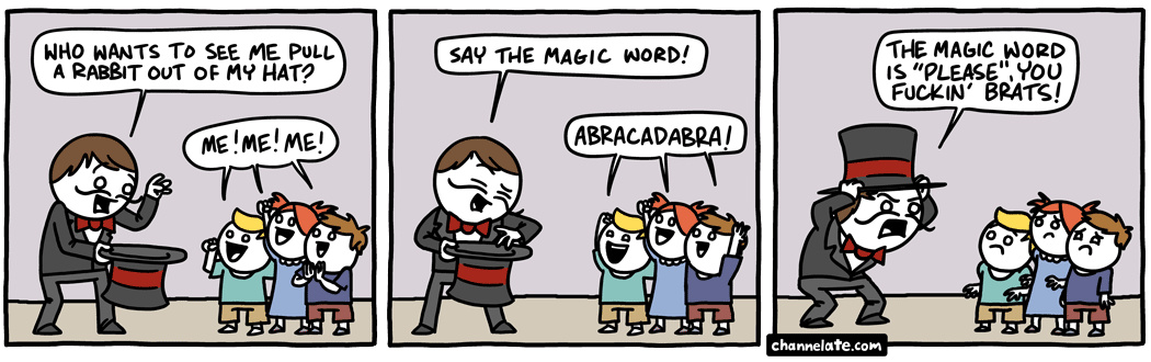 magic word - meme