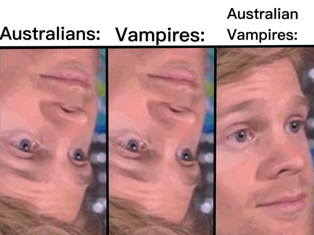 Australian Vampires - meme