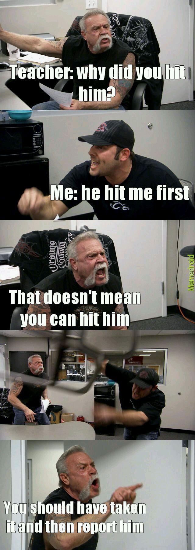 How every single be like - meme
