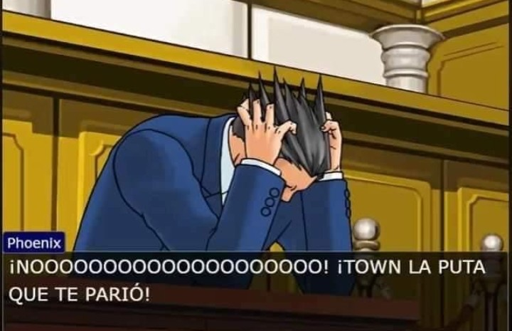 Ya le vimos la pija al town - meme