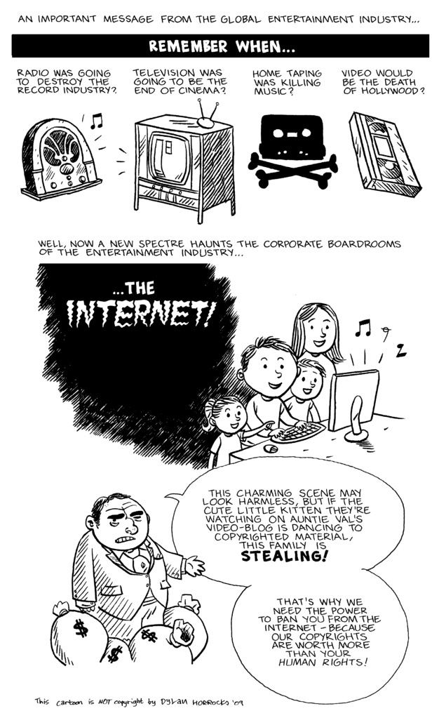 Google, YouTube, ISP are the real bad guys.. - meme