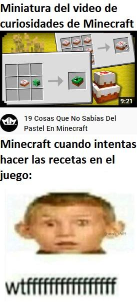 Minecraft: Deja de creer todo lo que ves carnal - meme