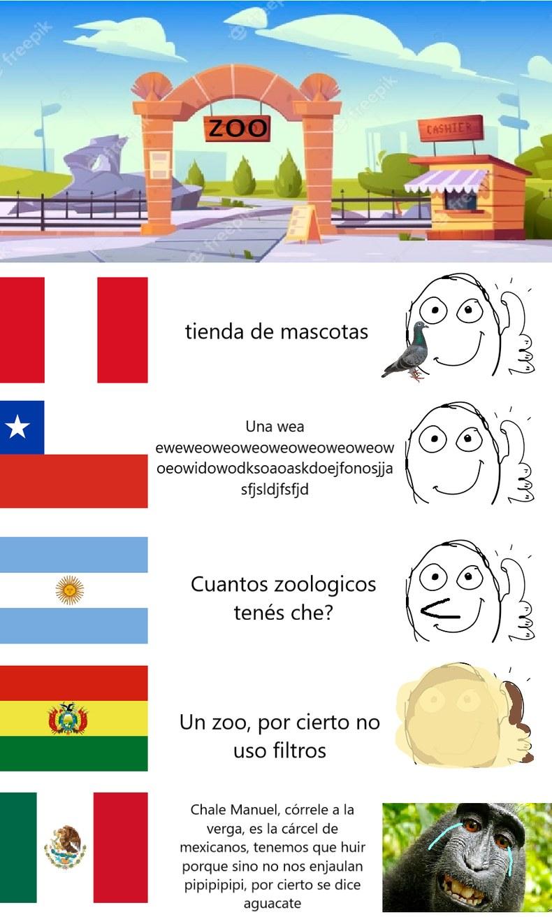 mexichangos, carcel - meme