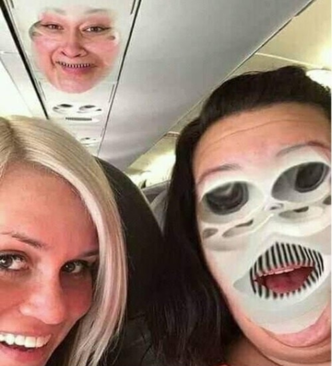 when face swapping goes wrong. - meme