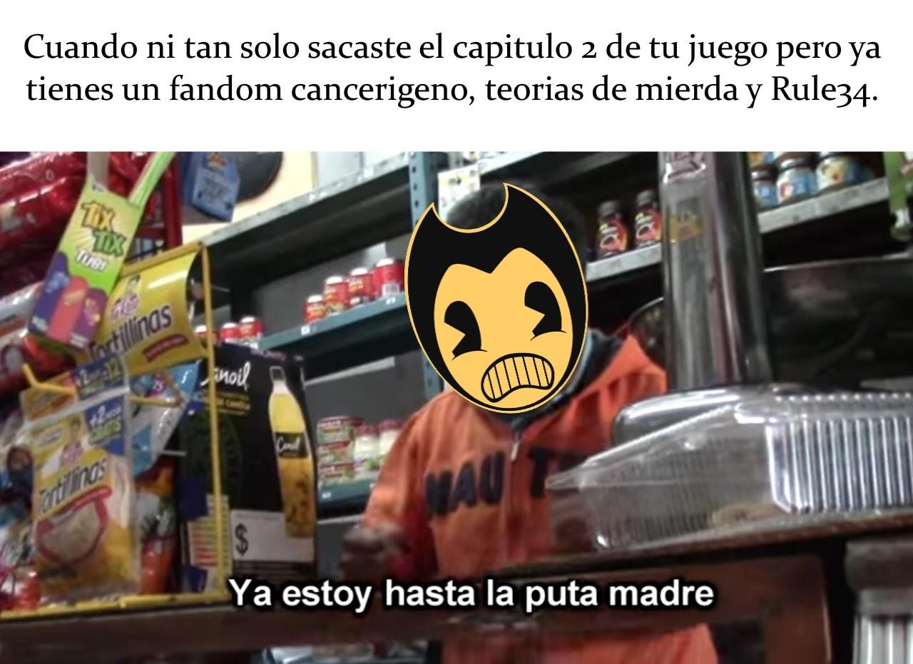 Bendy - meme