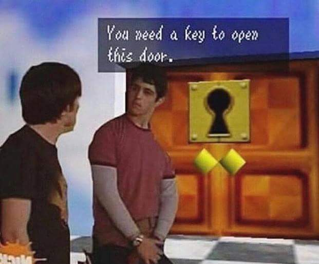 So go get the key - meme