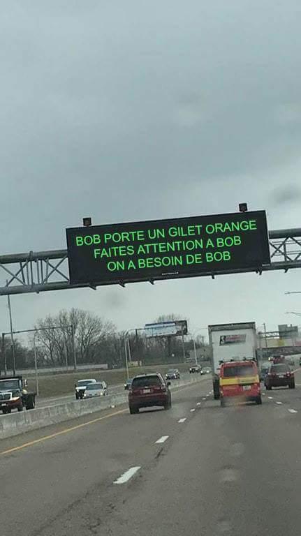 Sois comme bob - meme