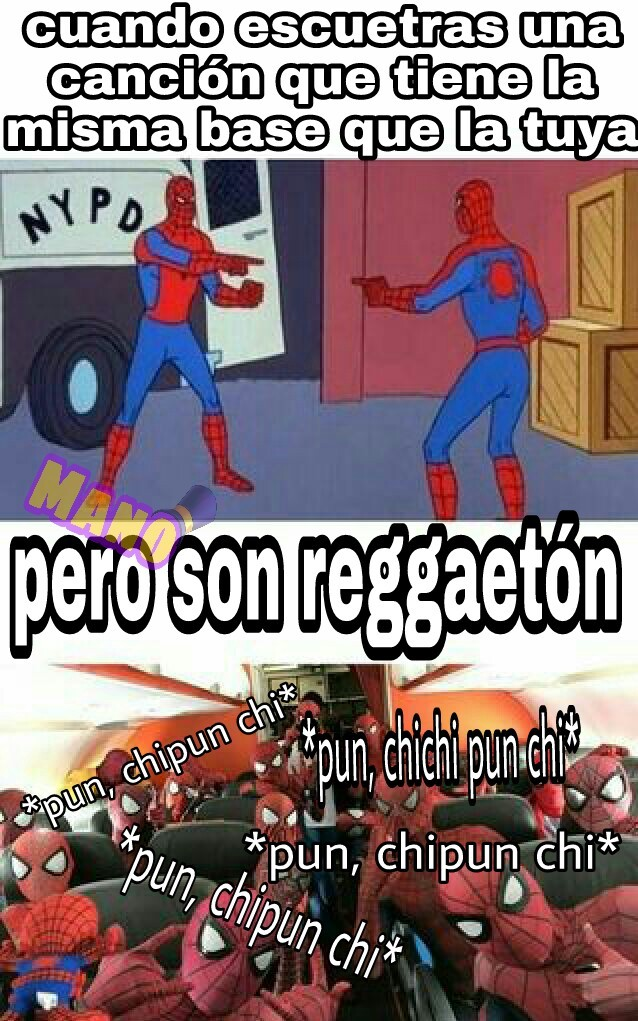 El reggaeton es mierda - meme
