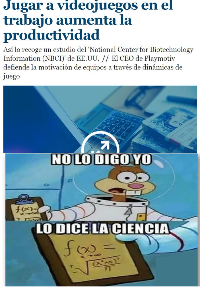 la ciencia manda - meme