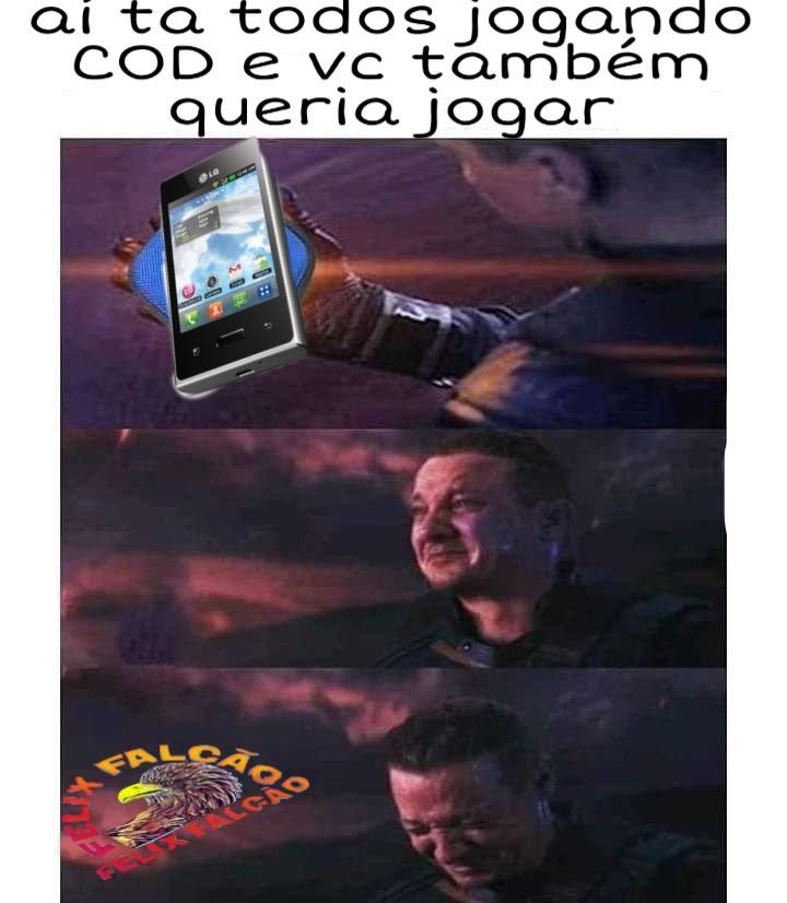 Vantade de chorar - meme