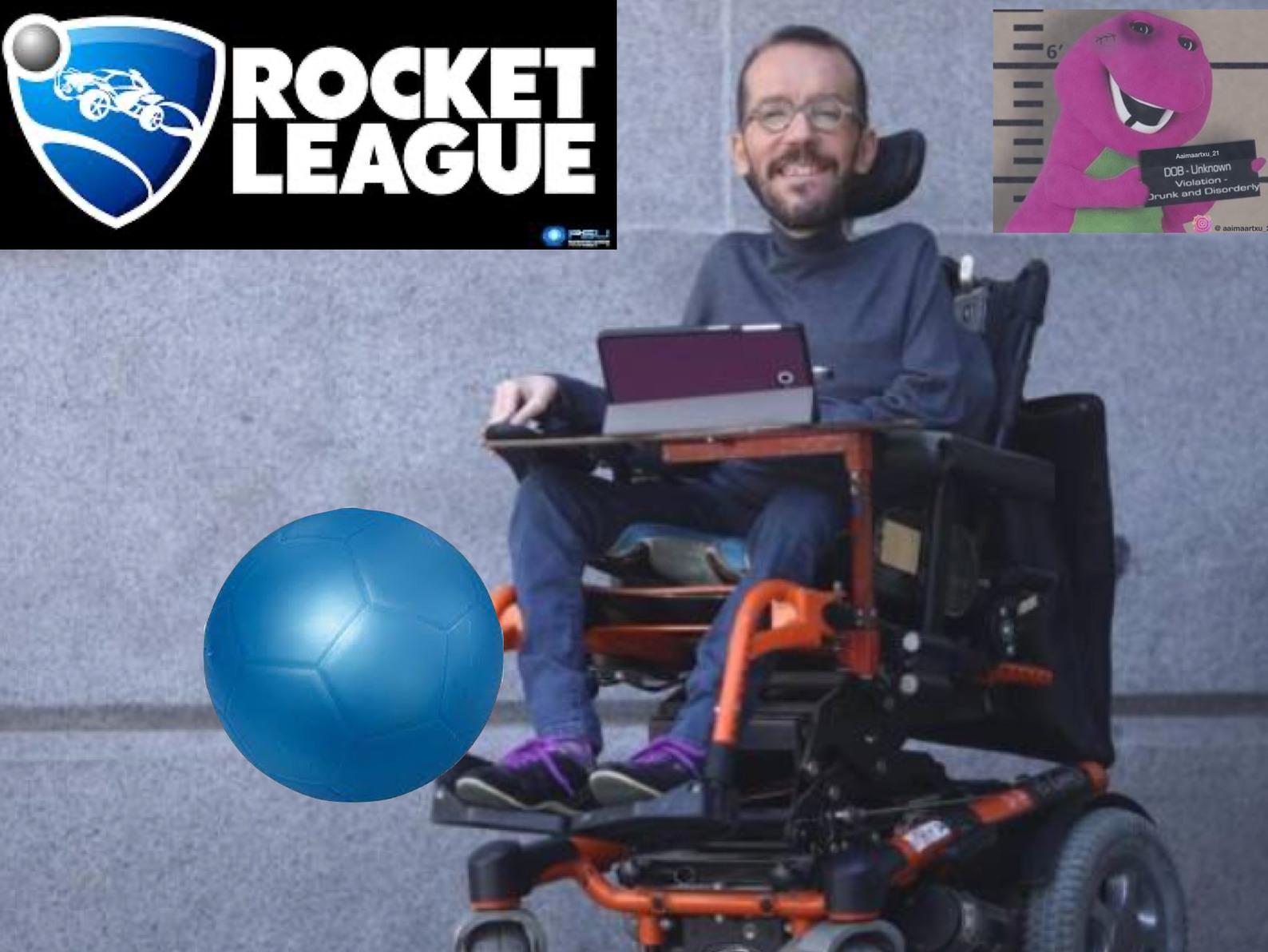 Tretraplegic boy - meme