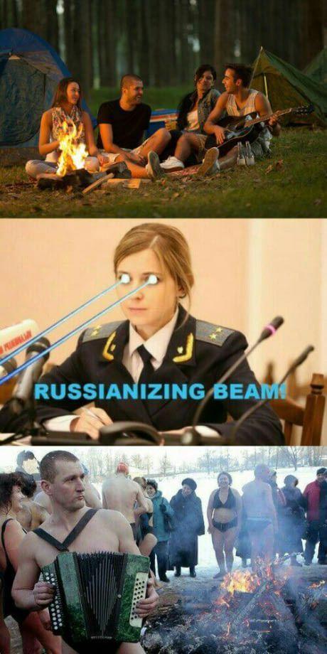 russians.... - meme