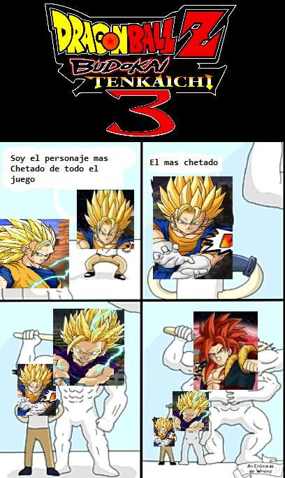 *Insertar Goku GT SSJ4 traje 4 (Goku SSJG) (Solo en la version Latino Final) - meme