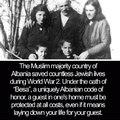 Albanian Muslims save Jews
