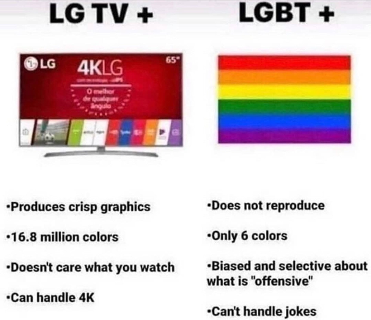 LGTV+ all day - meme