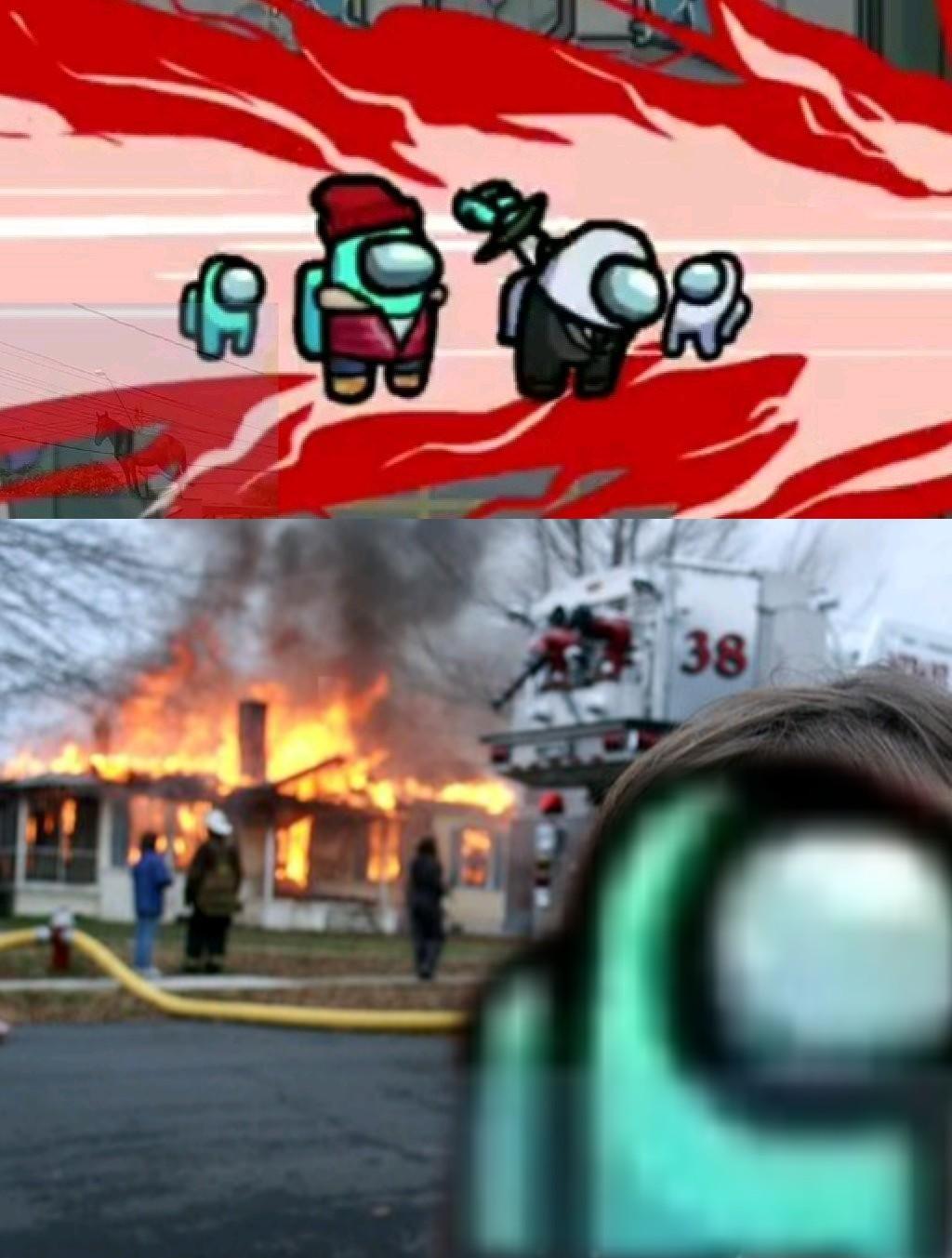 Hay personas que solo quiere ver el mundo arder - meme