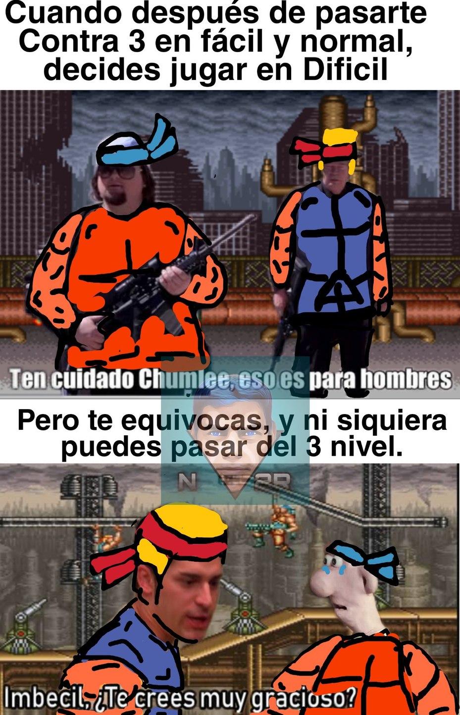 Contra 3 by N-2E - meme