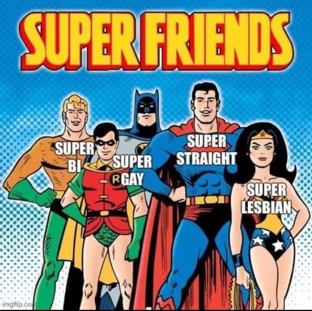 Super Friends - meme
