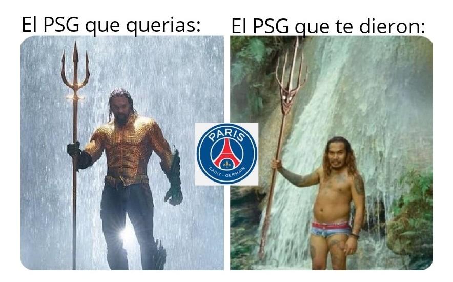 PSG lite XD - meme