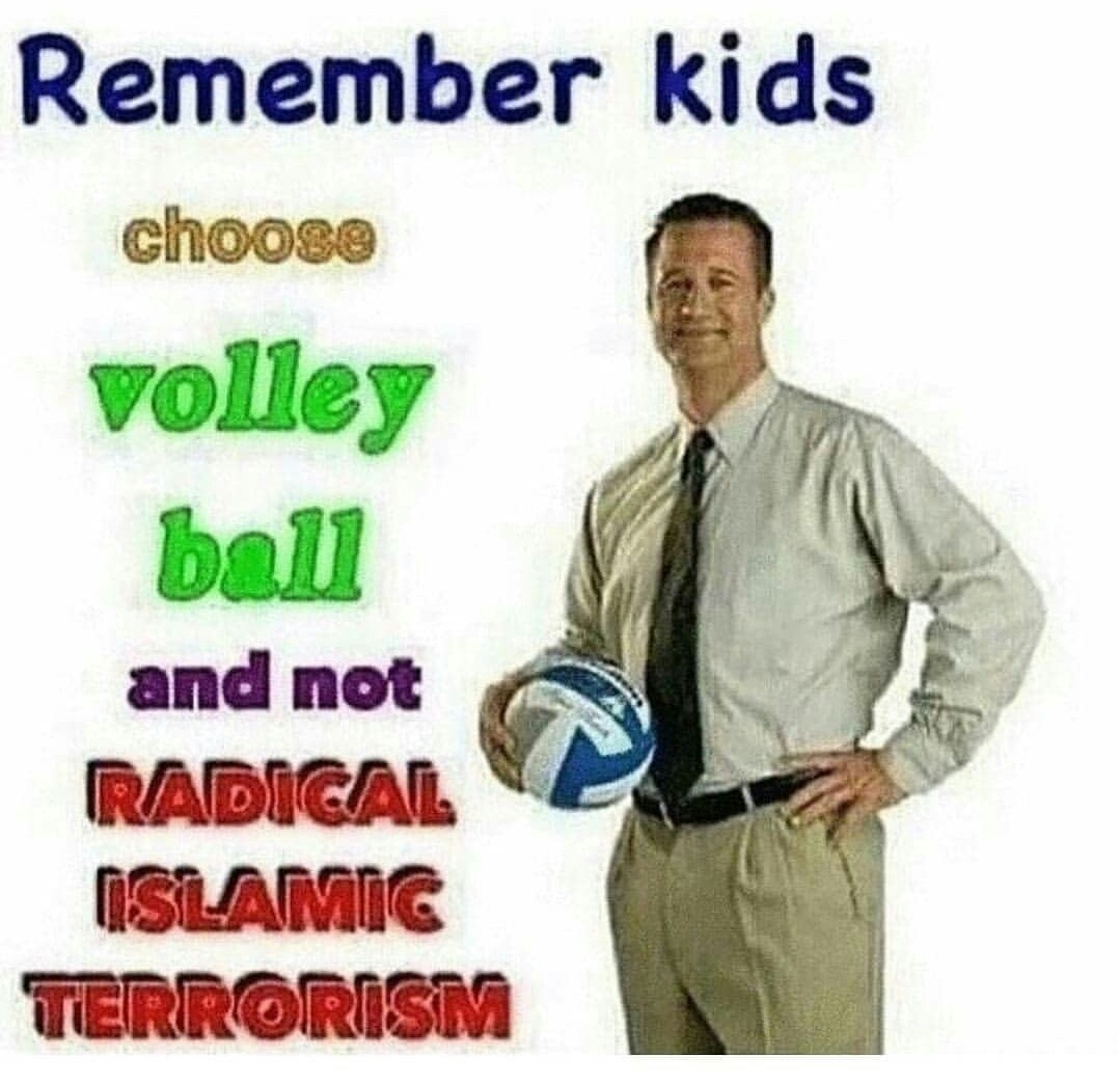 Radical islâmico n é bom - meme