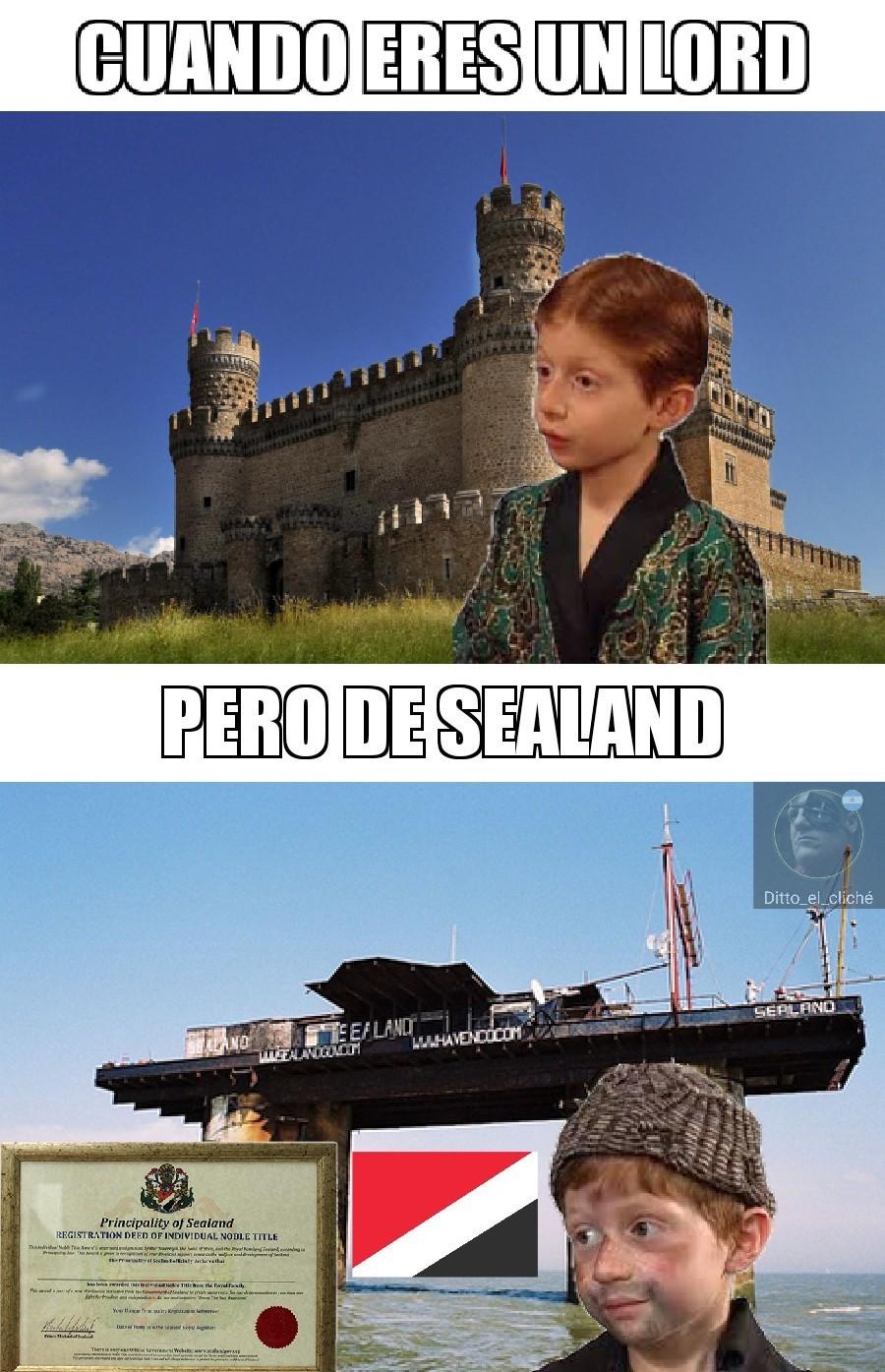 Sealand best pais - meme