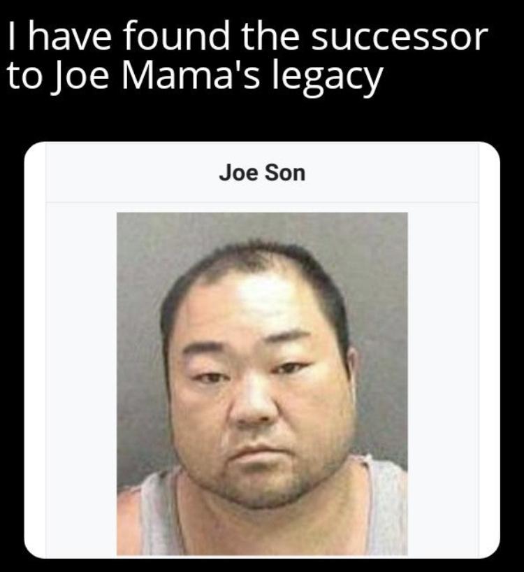 Joe Son?? - meme