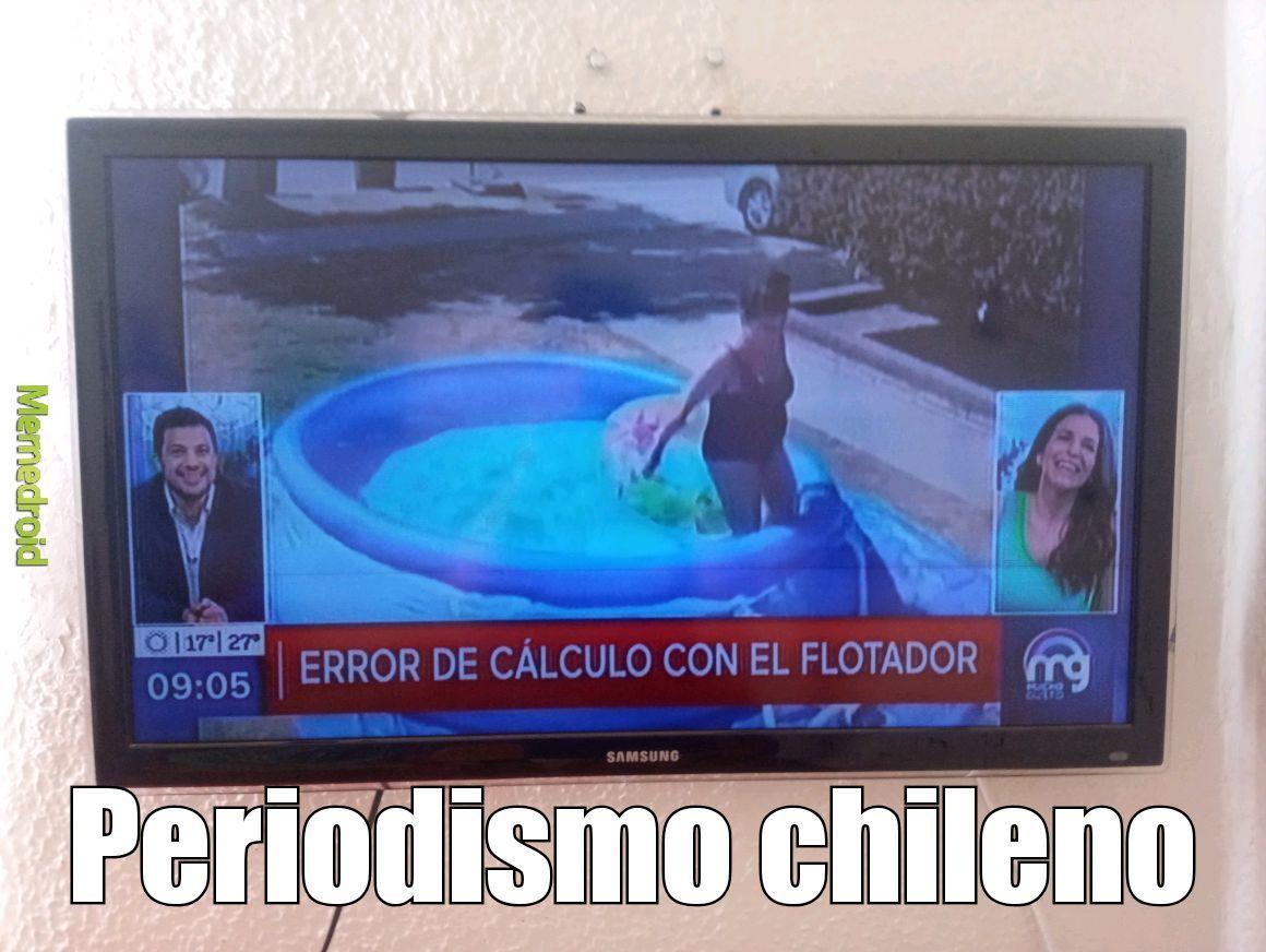 Periodismo chileno - meme