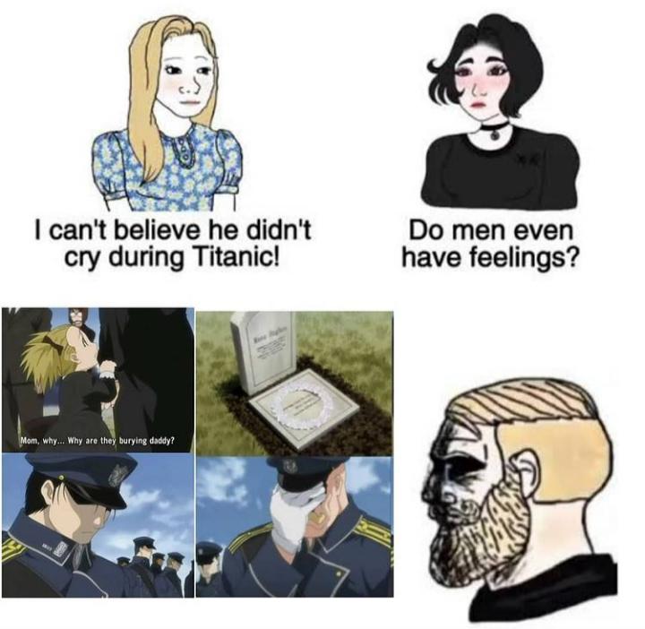 Real men cried here - meme