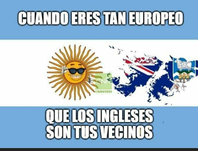 """""""Los argentinos vienen de barcos......""""   - alverso fernandez - meme"""