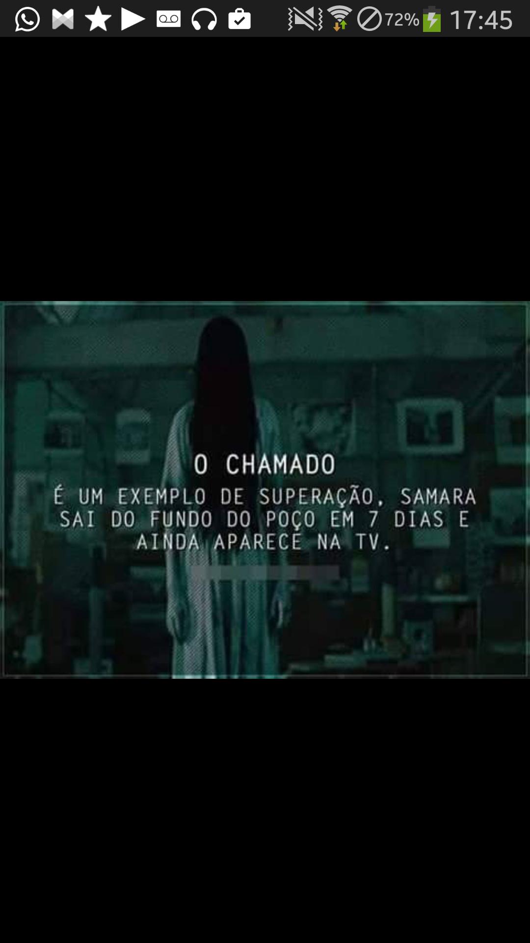 Devemos seguir o exemplo da Samara =) - meme