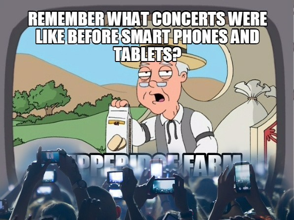 I hate when people do that, just enjoy the damn show! - meme