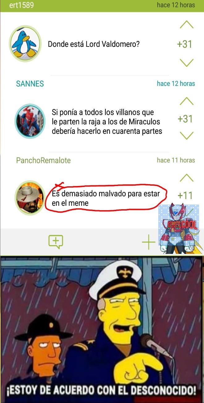 Lord Valdomero - meme