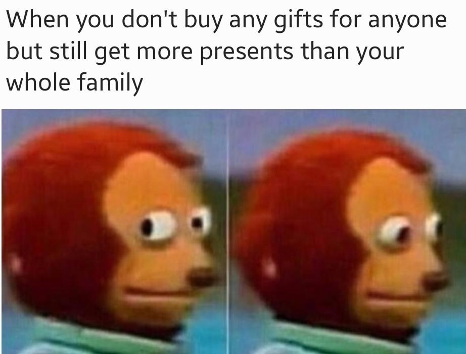 I feel guilty - meme