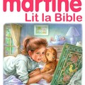 Martine lit la Bible