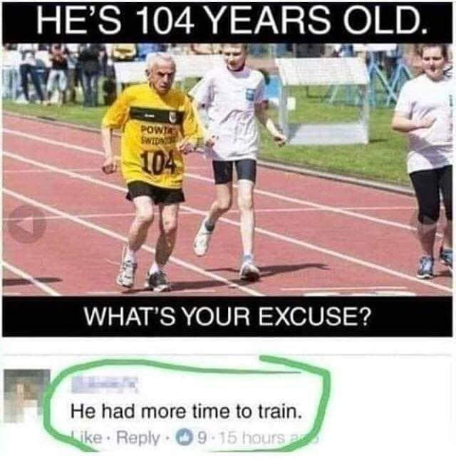 The excuses - meme
