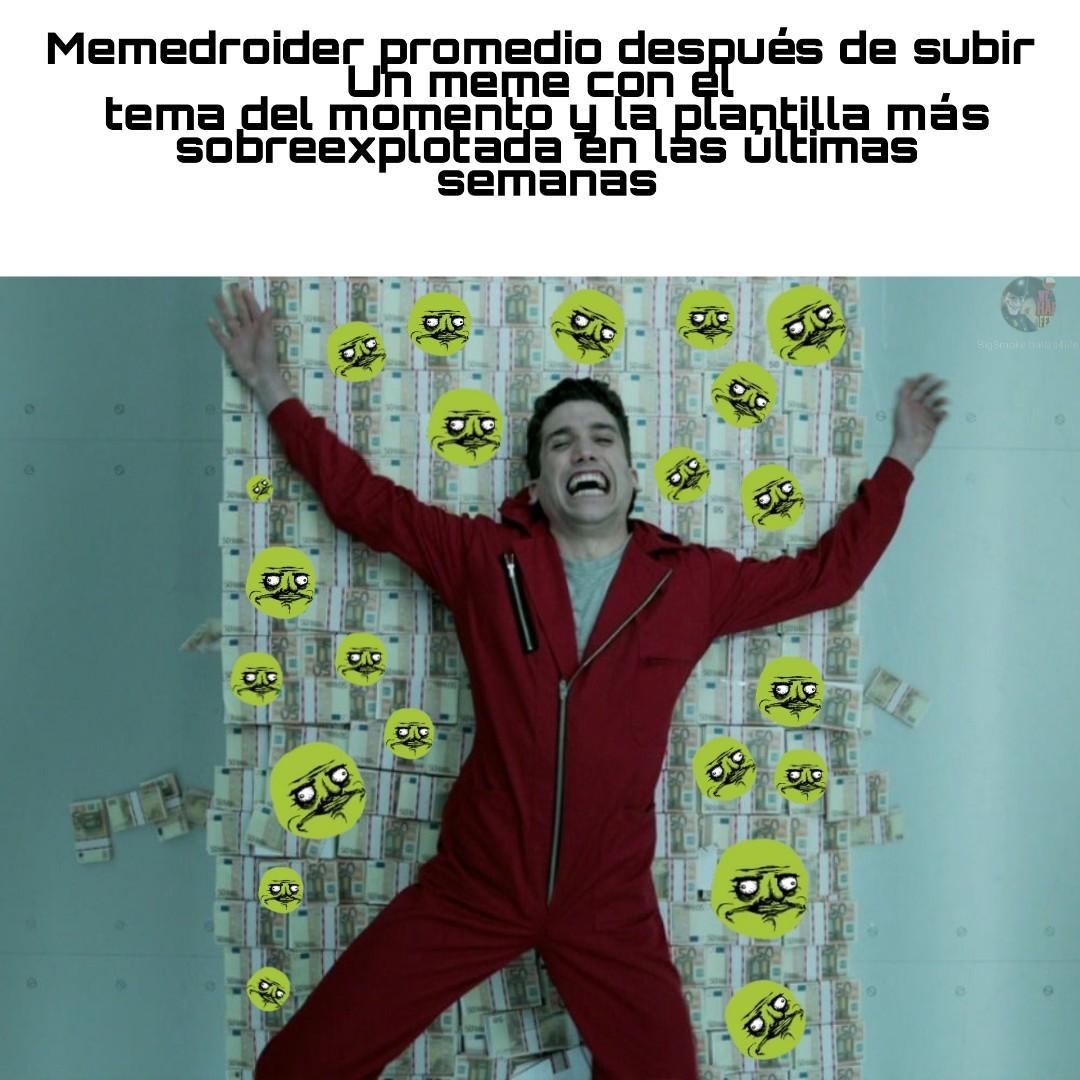 Una mattina - meme
