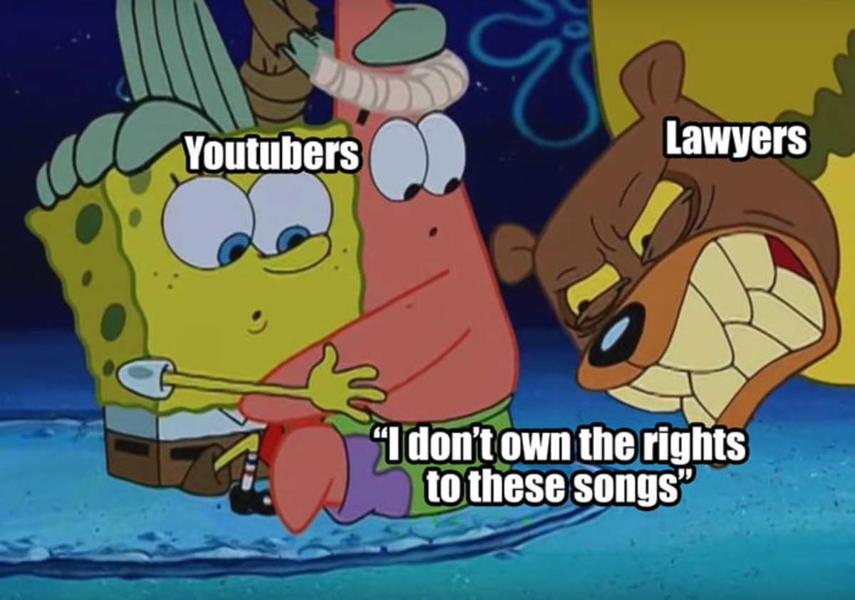 Youtubers be like - meme