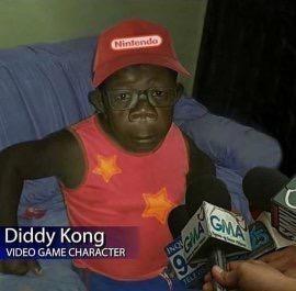 Diddy Kong racing>>>Mario kart - meme