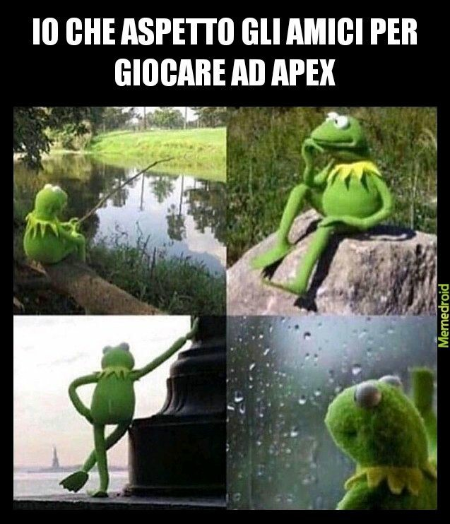Ma perchè non giocate ad apex - meme