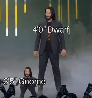 I'm a gnome - meme