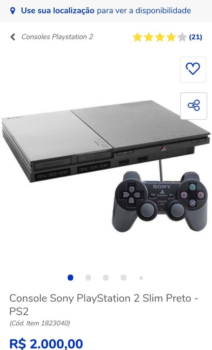 PS5 tá caro, compra um PS2 então - meme