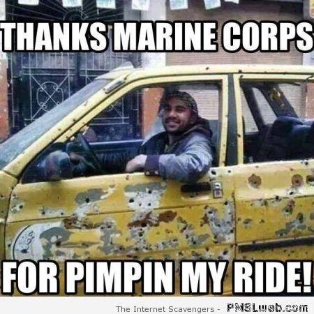 USMC life - meme